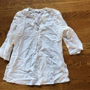 White linen shirt or cover up